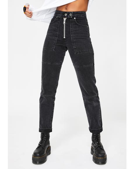 Charcoal Pride Jeans