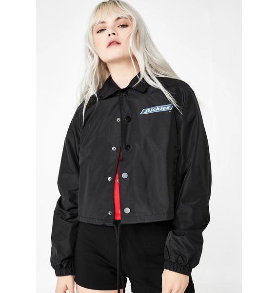 Dickies Girl Snap Front Windbreaker Jacket