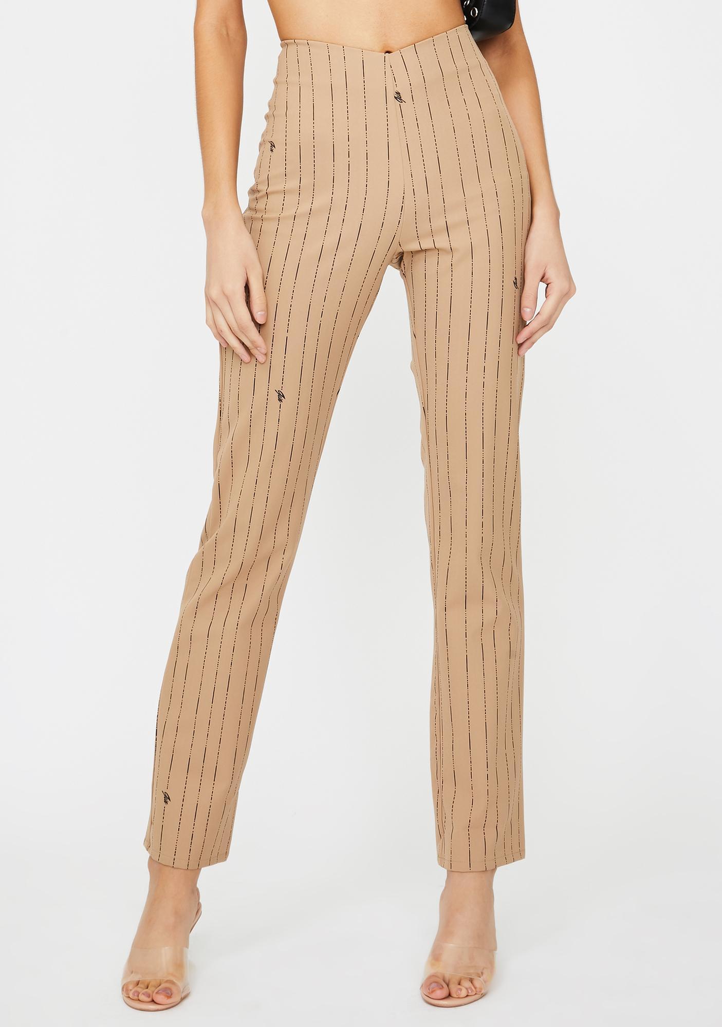 I AM GIA Dominique Pinstripe Pants