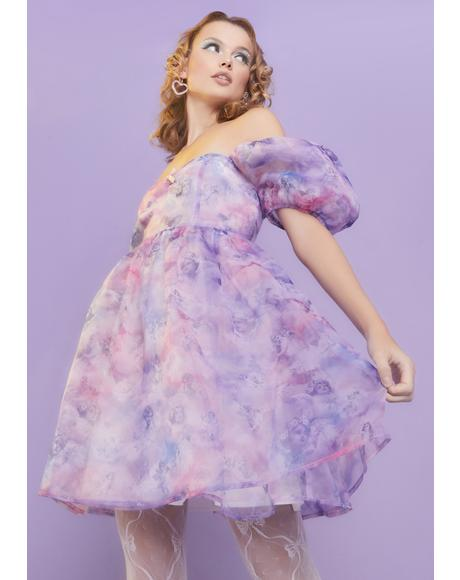 On Cloud Nine Babydoll Dress