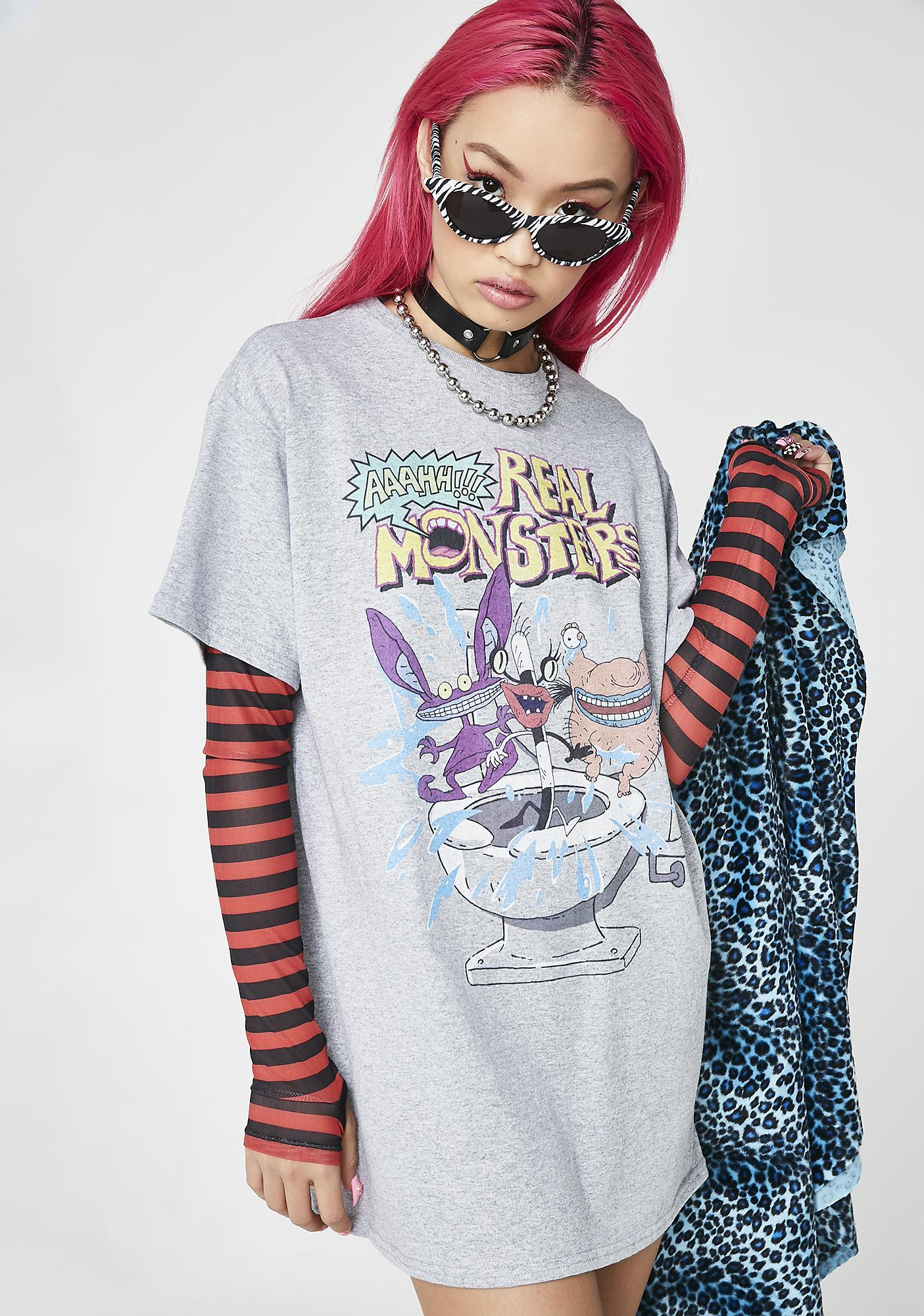 Ahh Real Monsters Graphic Tee