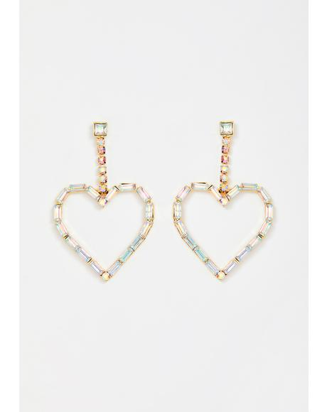 Passionate Princess Jeweled Earrings