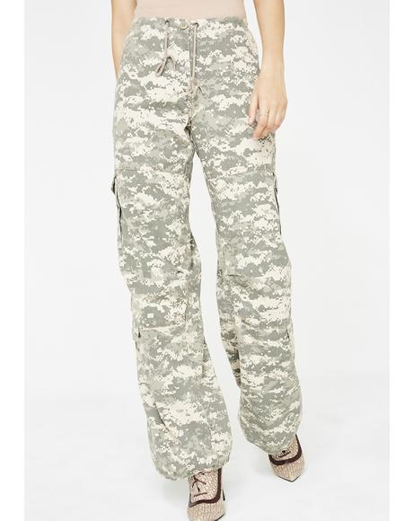 Digital Battle Cargo Pants