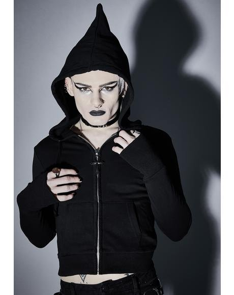 Demon Reaper Zip-Up Hoodie