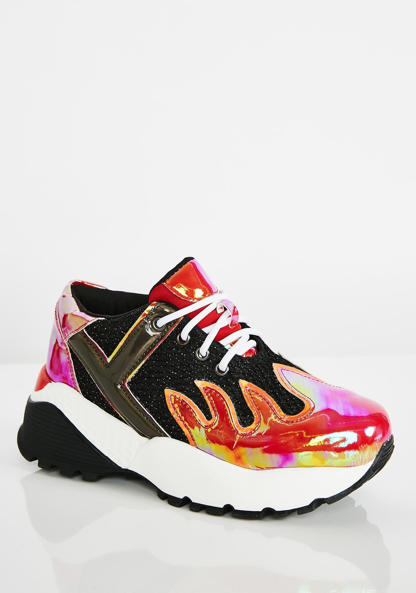 Y.R.U. Blaz3 Platform Sneakers