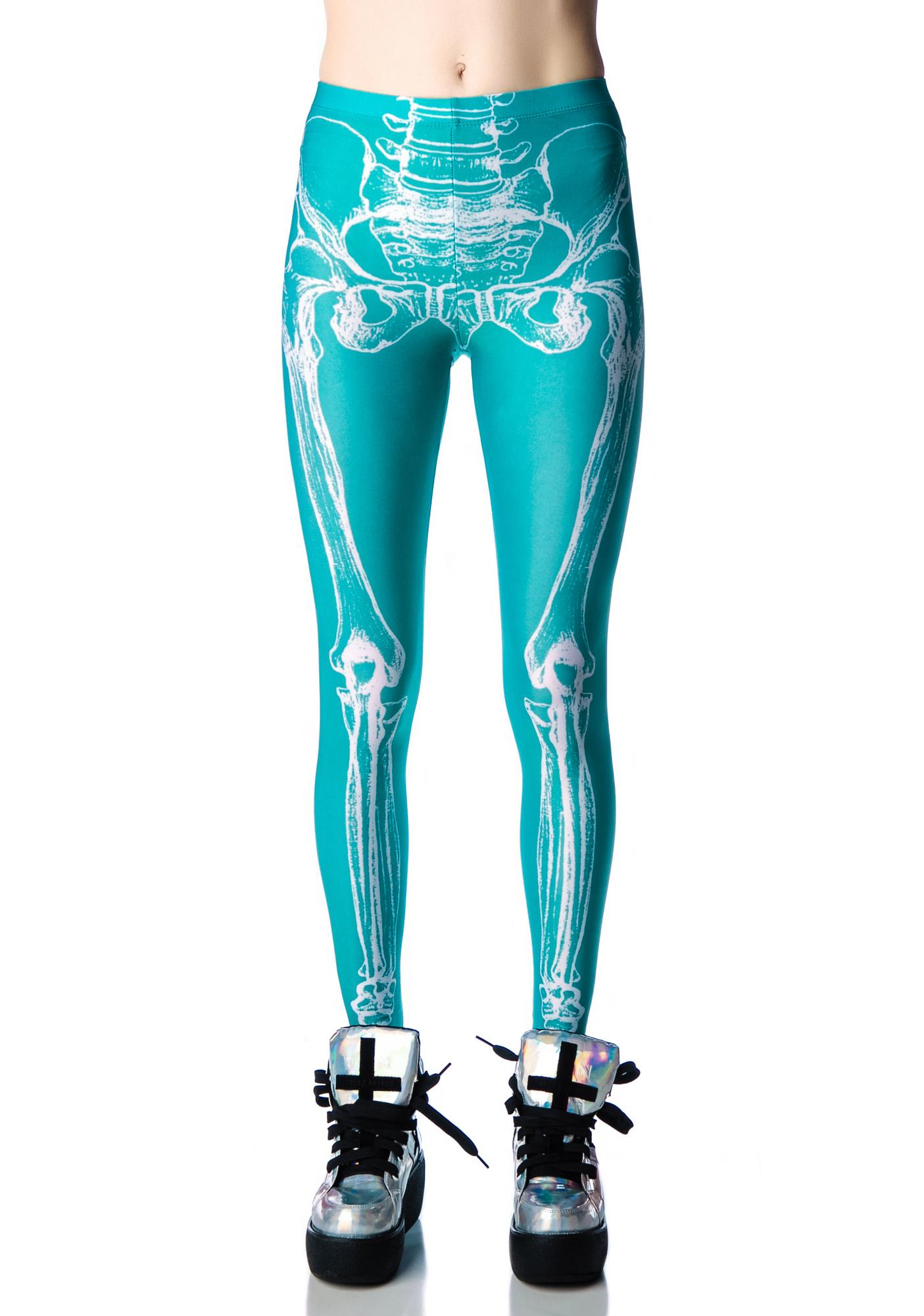 Iron Fist Wishbone Leggings