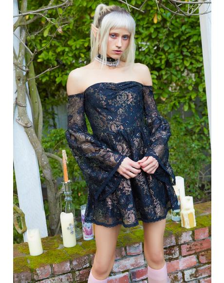Highland Calling Lace Babydoll Dress