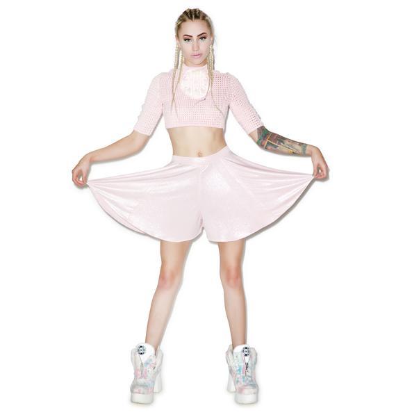 Mamadoux Iridescent Slip Shorts