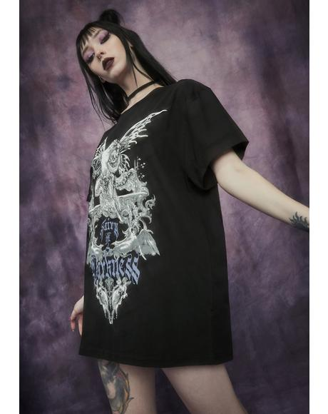 Malice And Mischief Oversized Graphic Tee