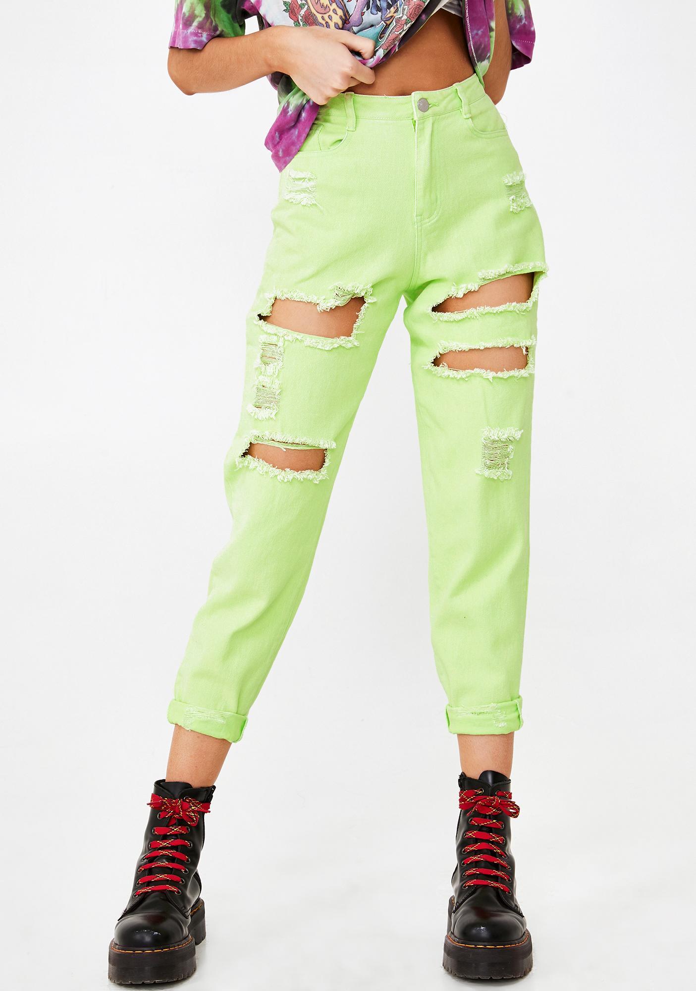Wild N' Free Distressed Jeans