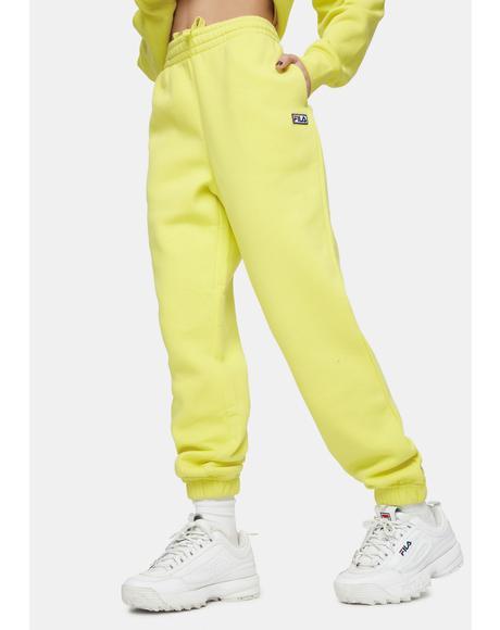 Yellow Lassie Joggers