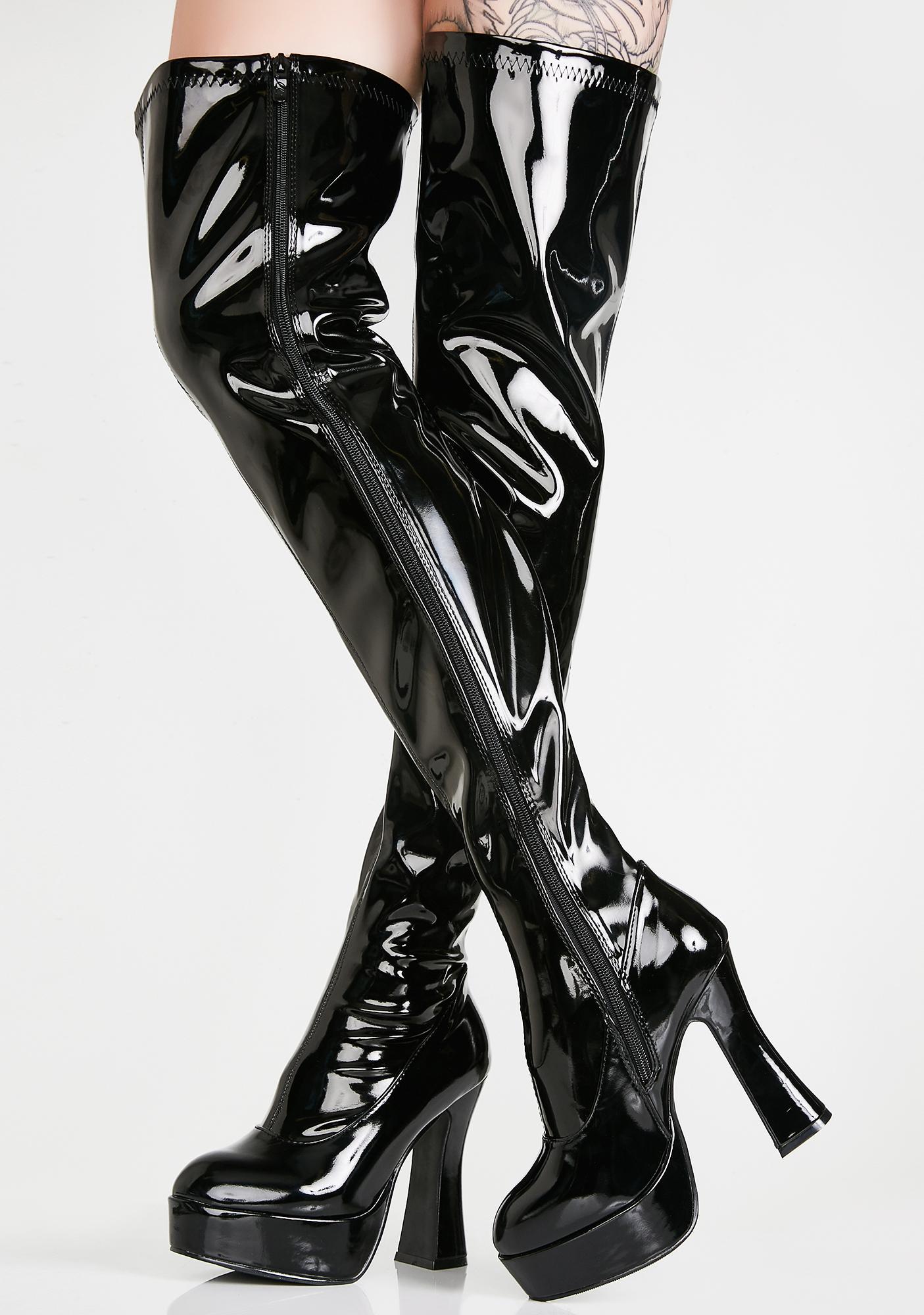 5456f384428 Wicked Desire Platform Boots