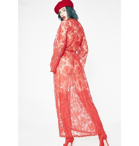 Siren Elvira's Maxi Robe Set