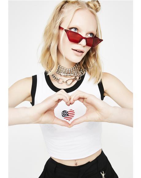 I Heart America Tank Top