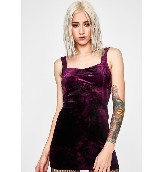 Ruthless Temptations Velvet Dress