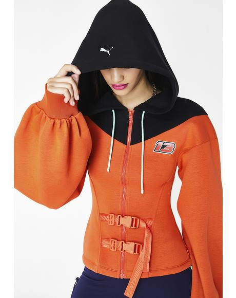 FENTY PUMA BY Rihanna Belted Zip Hoodie