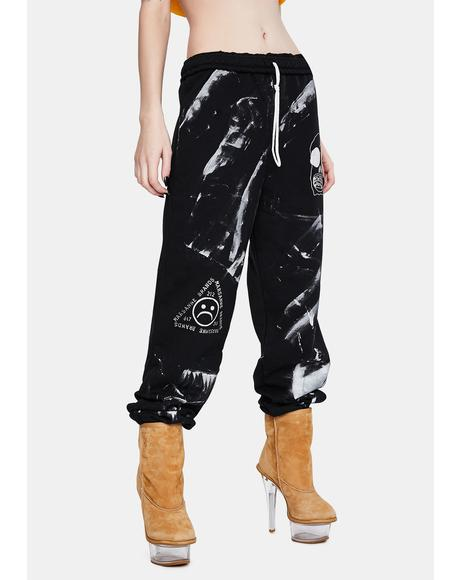 Sloppy Skull Sweatpants