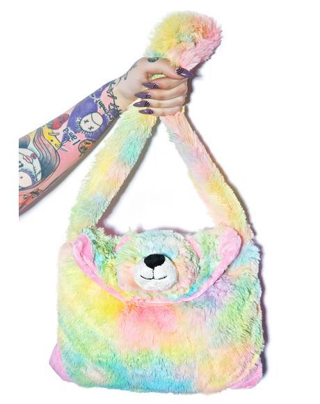 Rainbow Bear Purse