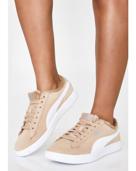 Vikky V2 Fuzzy Sneakers
