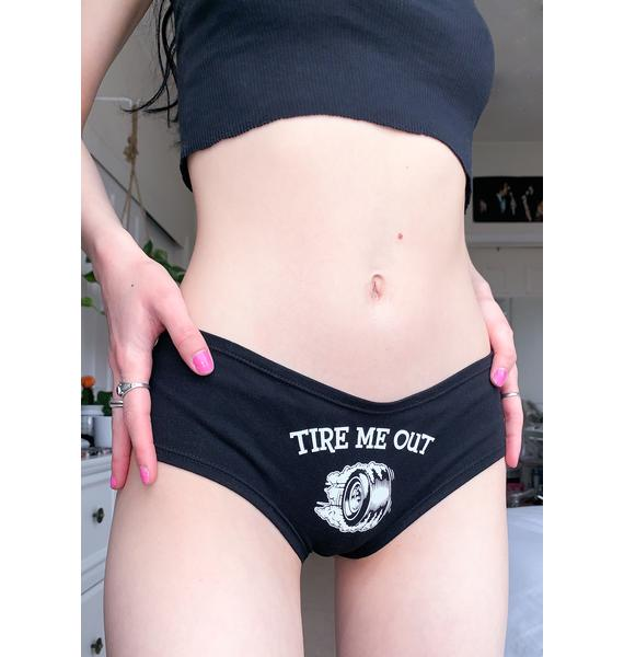 Cartel Ink Tire Me Out Boyshorts