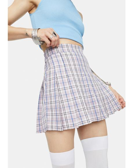 Girl Get Gone Plaid Mini Skirt