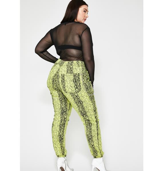 Slay Mamba Mami Snakeskin Pants