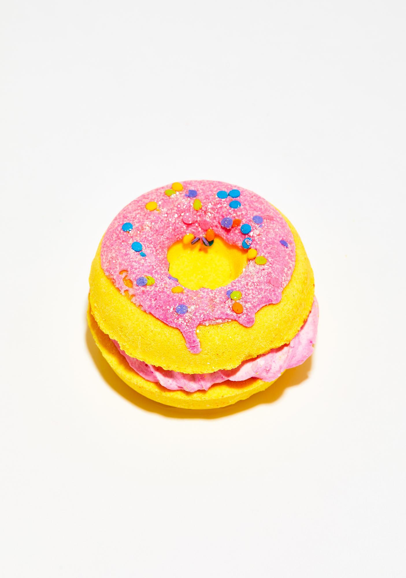 New York's Bathhouse Fruit Loops Donut Sandwich Bath Bomb