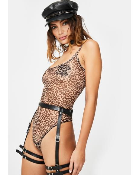Savage Same Mistakes Sheer Bodysuit