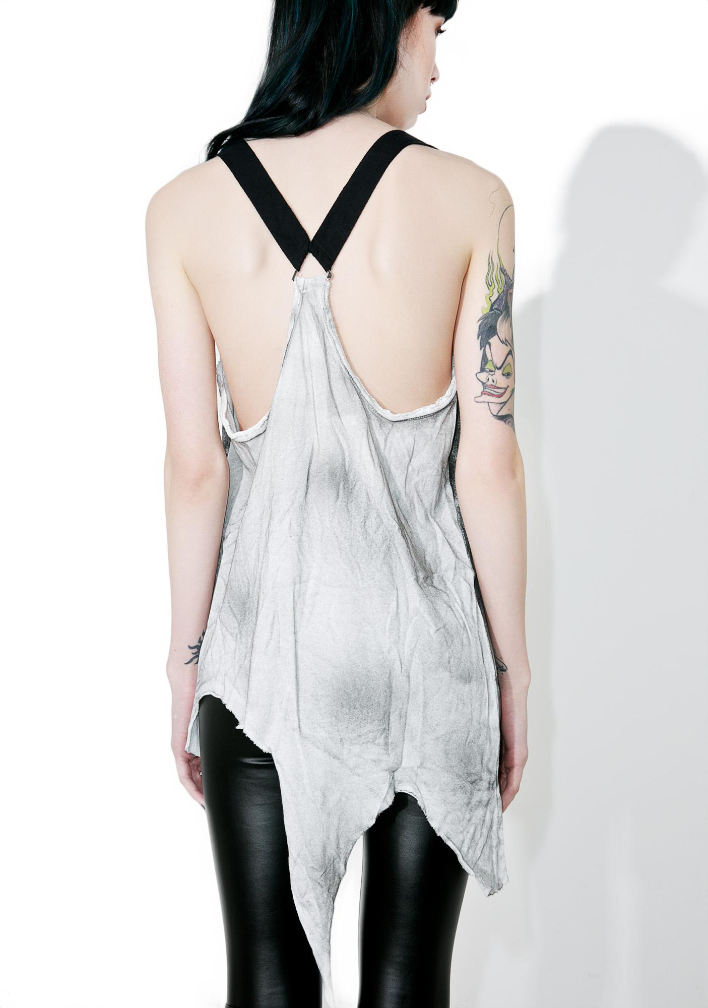 Punk Rave Demon Body Harness Tank