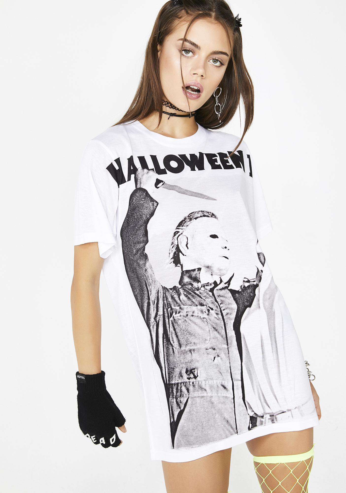 cf882e9f Michael Myers Halloween Movie Graphic Tee | Dolls Kill