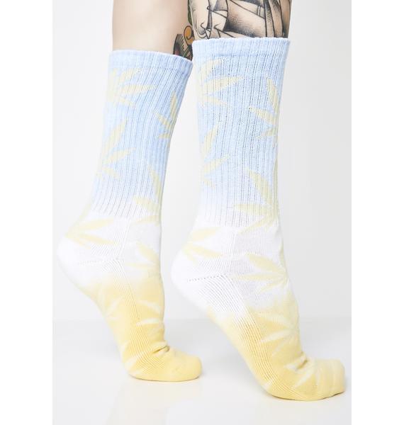 HUF Fade Dye Plantlife Socks