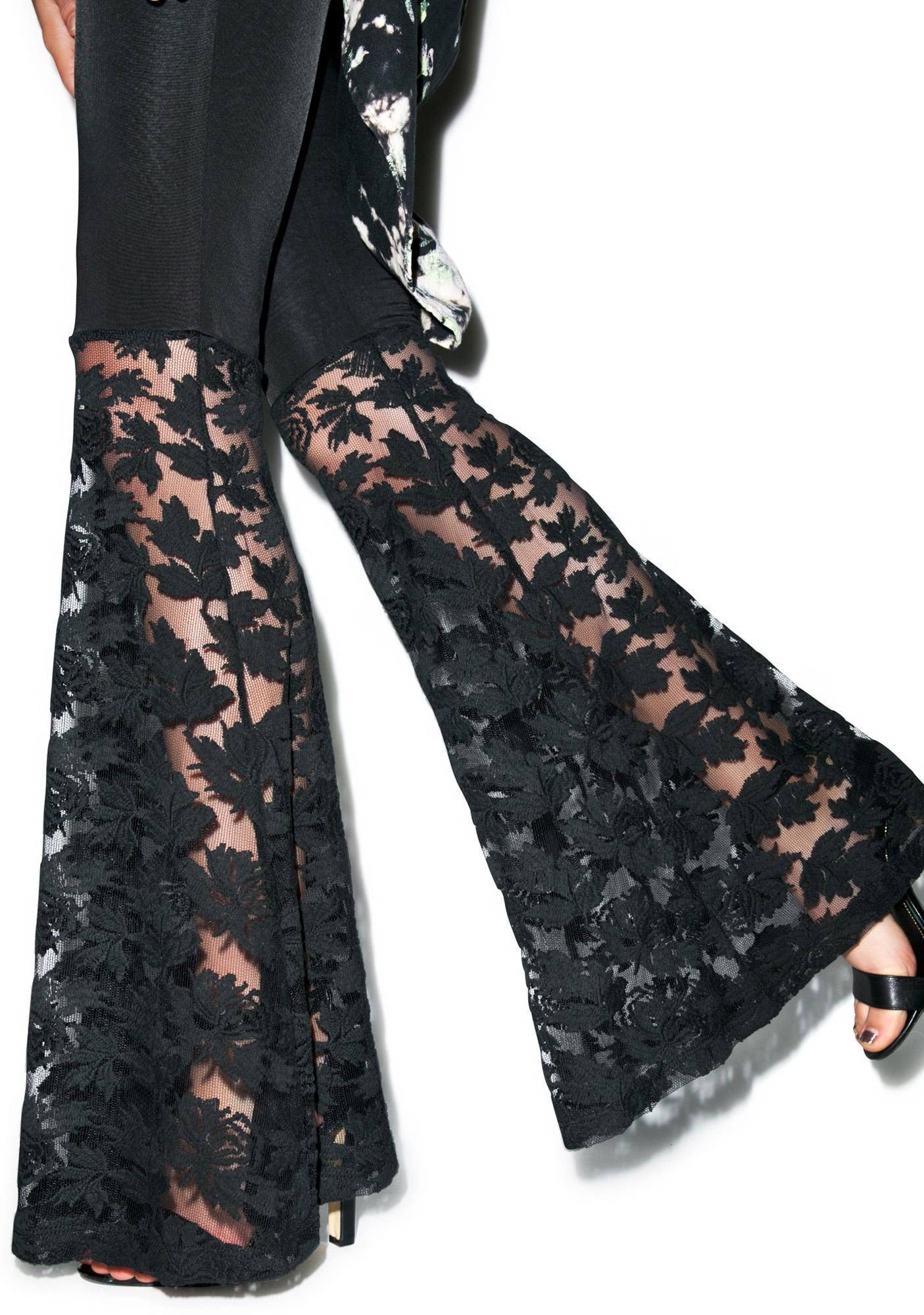 Line & Dot Francoise Flare Leg Pant