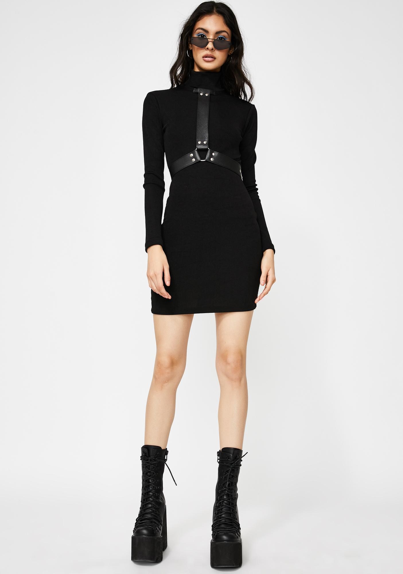 Kiki Riki Hard To Handle Mini Dress
