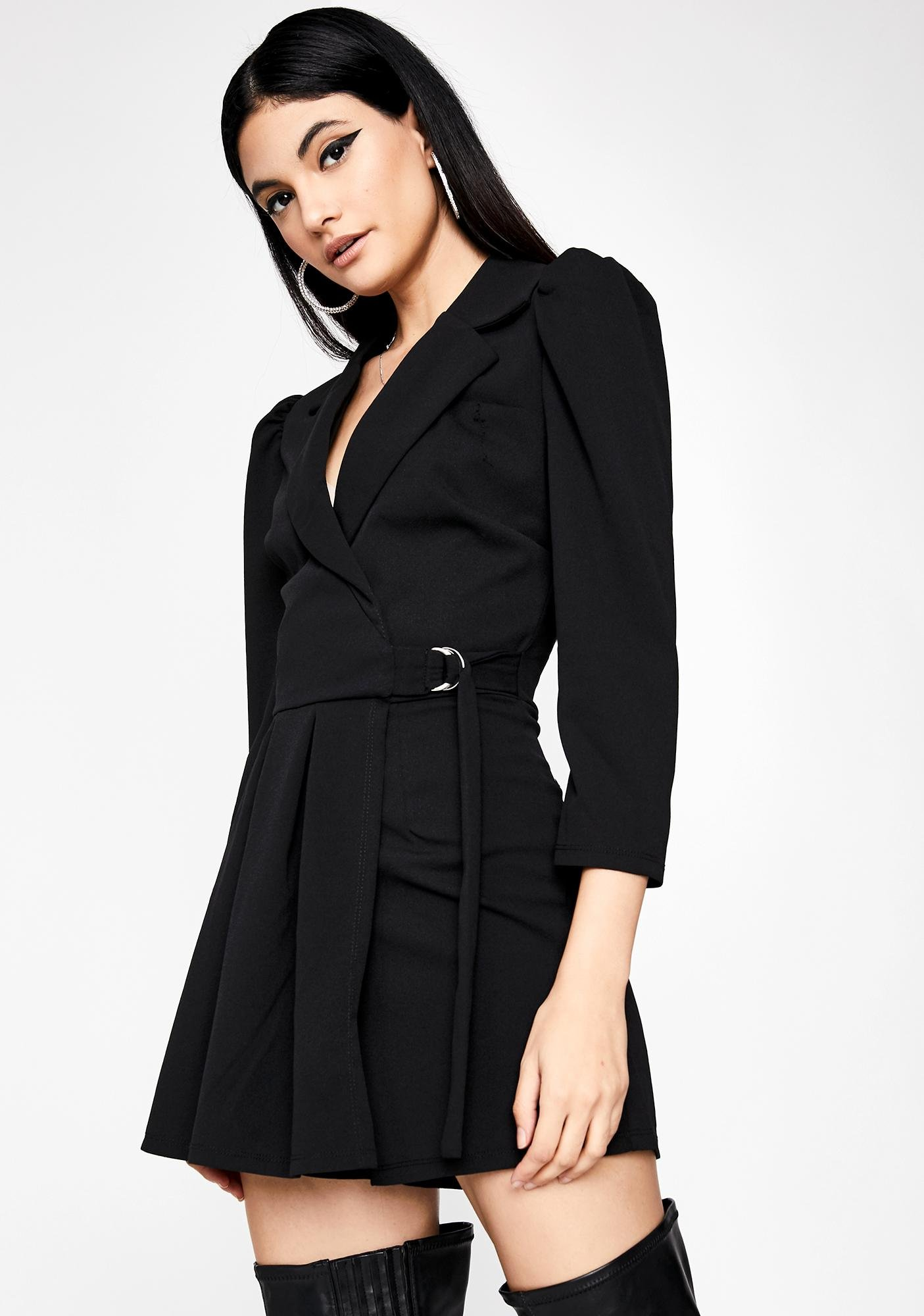 Time Is Money Pleated Romper