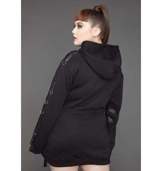 Poster Grl She Came To Slay Harness Hoodie