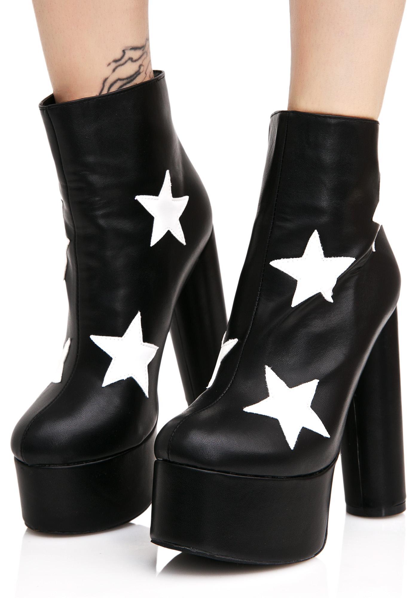 Public Desire Cloud Star Platform Boots