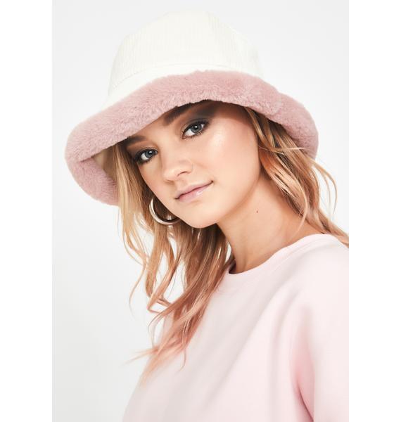Pretty Doll Baby Corduroy Bucket Hat