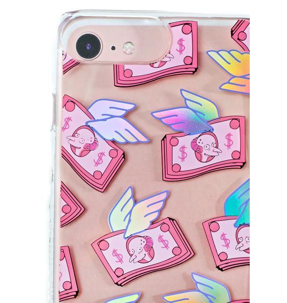 Skinnydip Mr. Burns Flying Money iPhone Case