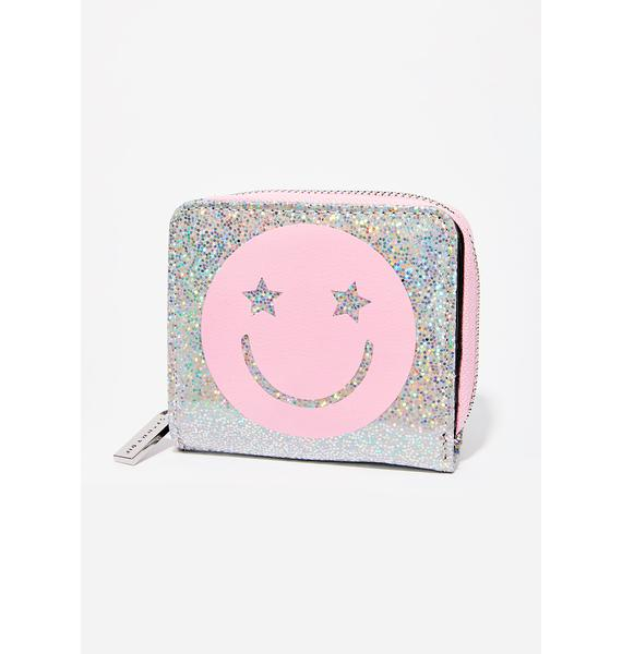 Skinnydip Smiley Wallet