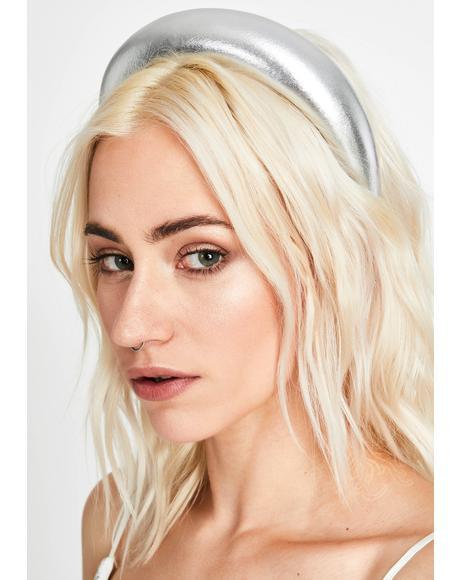 Moon Queen Metallic Headband