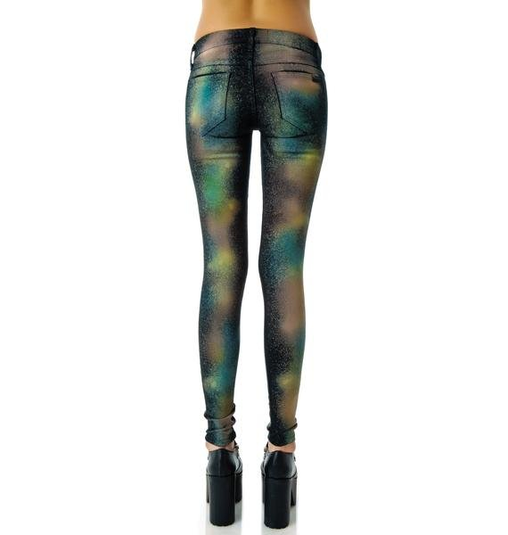Wildfox Couture Celestial Marianne Skinny Jeans
