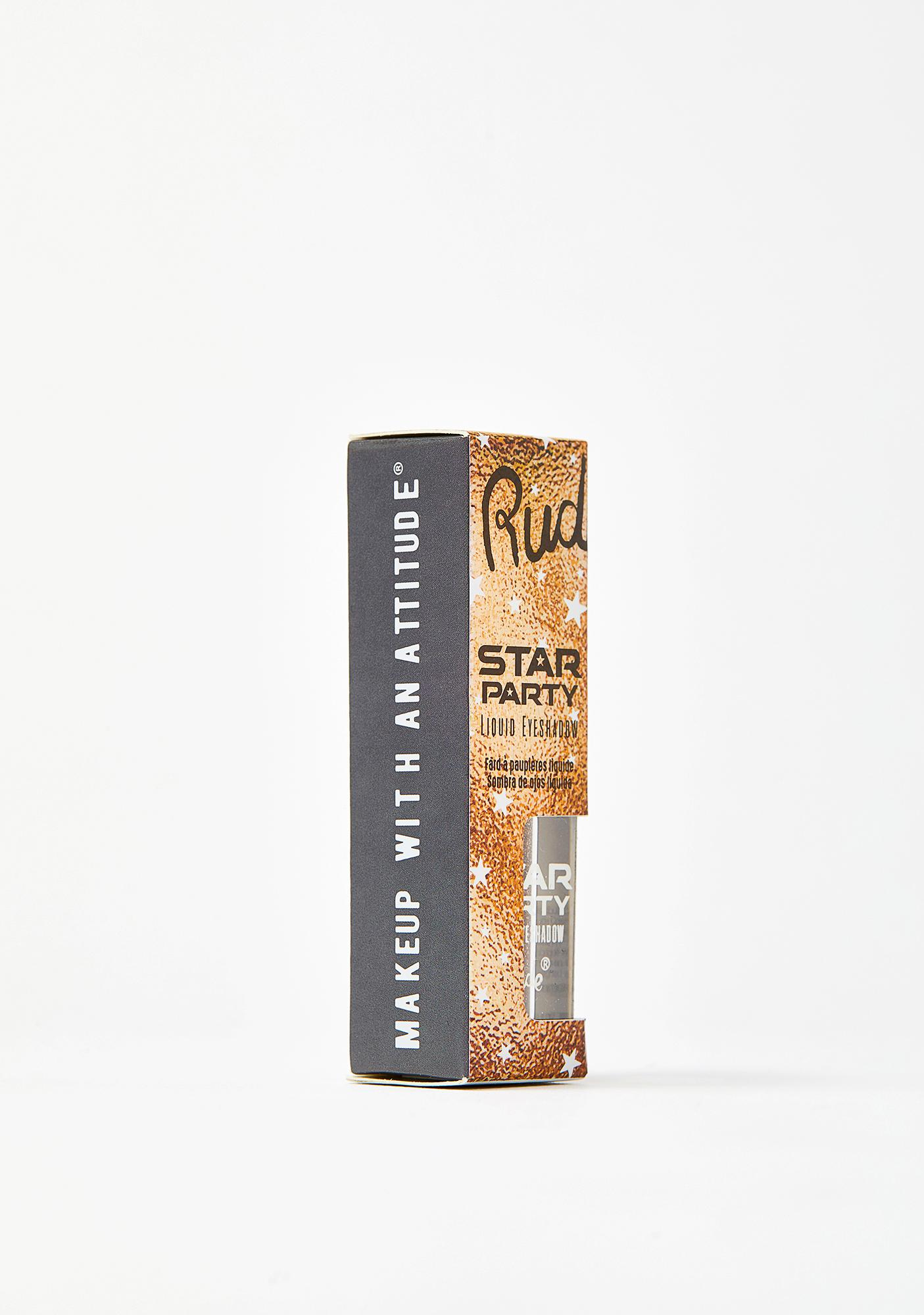 Rude Cosmetics Big Bang Star Party Liquid Glitter Eyeshadow