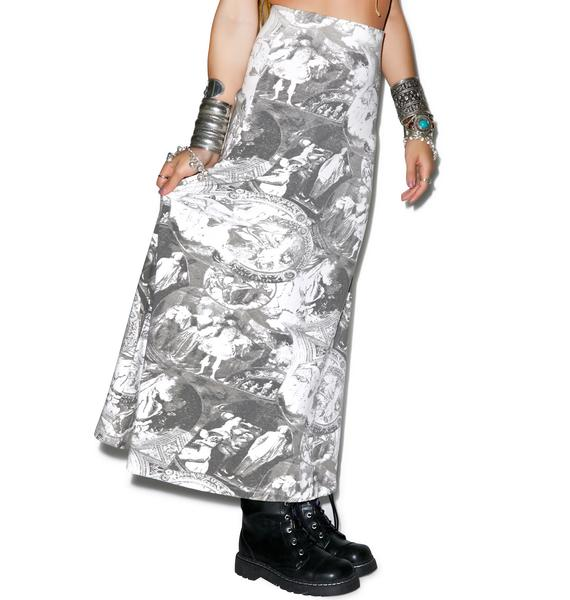 Baroque As A Joke Maxi Skirt
