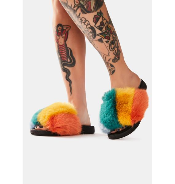 Fluffy Glam Slides