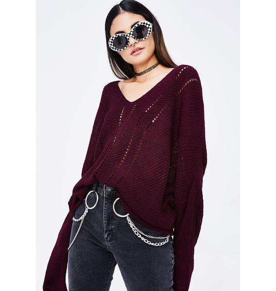 Lemme Be Knit Sweater