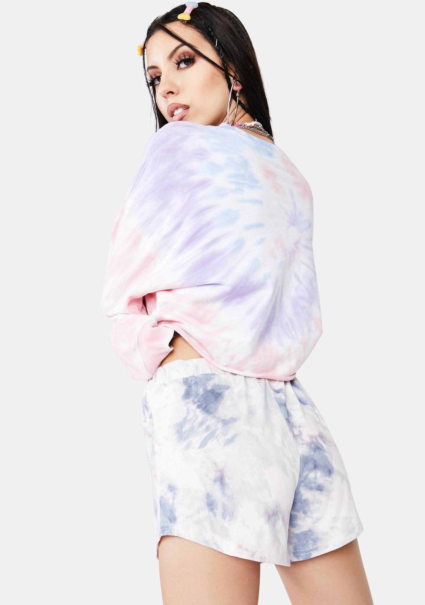 Bailey Rose Tie Dye Dolphin Shorts