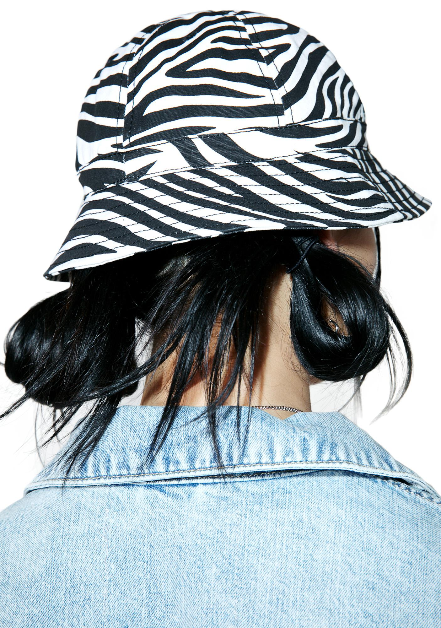 Cheap Monday Zebra Bucket Hat