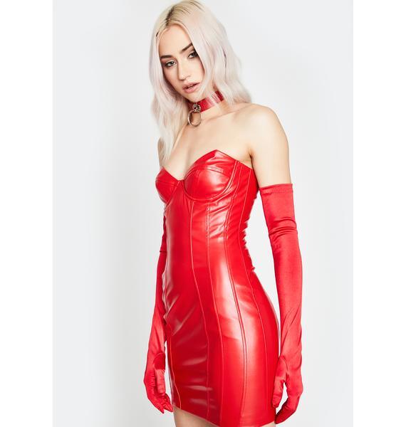 Cherry Buy Me Somethin' Bodycon Dress