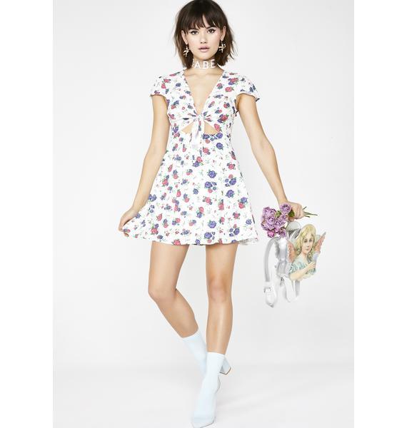 Sugar Thrillz Love Nymph Floral Dress