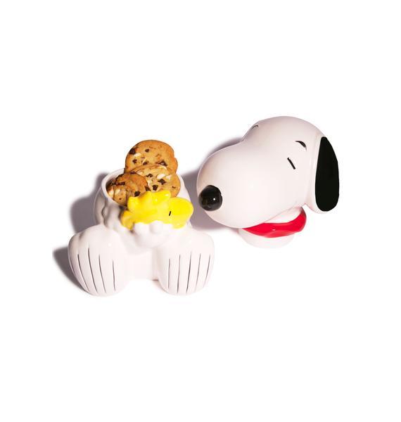 Snoopy Hugz Cookie Jar